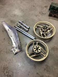 Parts from Yamaha RZ500