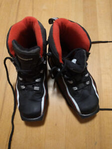 Child's cross-country ski boots