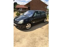 Renault clio Sport new mot low miles for age