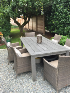 Quality Patio Table and Chairs