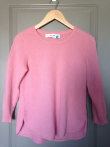 Anthropologie cashmere sweater Sz S, gently used