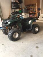 Yamaha Grizzly 80 for Kids