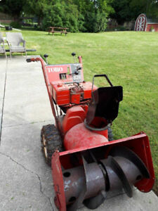 Toro Gas Snow Blower with Chain Tires