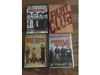Boys/men's DVDs 2new 2 watched once