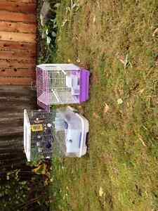 bird cages 30.00 each - 50 both