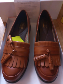 Brand New leather Hotter brand Comfort Concept Loafers