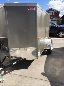 Brand New 5 X 8 Enclosed Utility Trailer