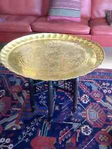 Antique Turkish tray table Downtown-West End Greater Vancouver Area image 1