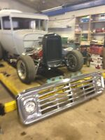 1972 ford 600 grill
