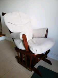 Shermag baby rocker sleigh rocking chair glider