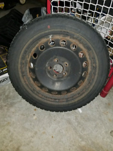 """18"""" winter tires/steel wheels for Dodge/Ford"""