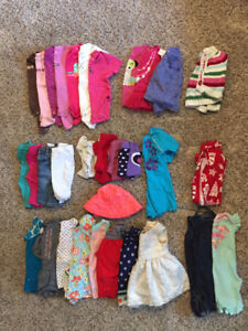 Size 6-12 Month Girl Clothes - excellent condition