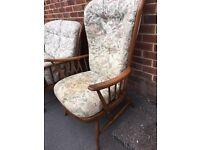 Ercol armchair vintage retro excellent quality