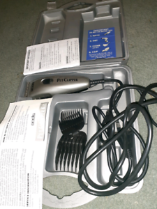 Pet clippers - Andis used once