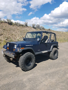 1993 Jeep yj 4 litre 4 inch lift 191000k