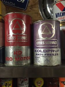 Vintage oil cans London Ontario image 4