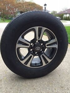 4 Brand New Toyota Tacoma Tires & Rims