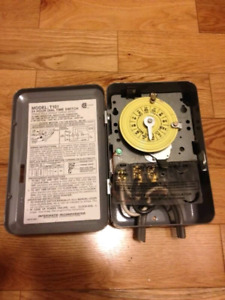 24 hour dial timer Intermatic model T101 24 hour single pole