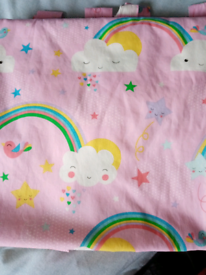 Unicorn duvet cover and curtains