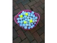 Over 250 pre loved golf balls