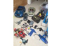 Action man clothes, action men figures and cars and vehicles
