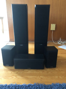 Fluance 5 channel Home theater speaker system NEVER USED