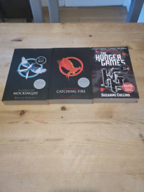 Hunger games book collection