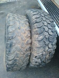 4 tires 31 X10.5x15