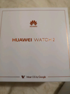 Brand new unopened Huawei Watch 2