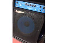 Ashdown 130W electric blue bass amp
