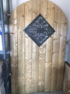 2 Unused Fence Gates Cambridge Kitchener Area image 1