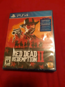 PS4 Red Dead Redemption 2 - New in Plastic