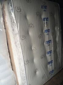 Brand New 4ft6 Double 5ft King Velvet Mattress (Approx 11 Inches Thick) Extra Padding Both Sides