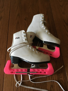 Girls Figure Skates and Skating outfits
