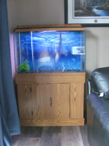 Aquarium fish tank 50 gallon