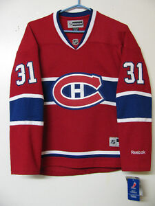 OFFICIAL MONTREAL CANADIENS CAREY PRICE YOUTH HOCKEY JERSEY NWT