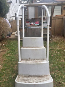 LOOKING FOR SET OF SMALLER POOL STEPS