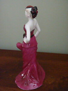 """""""Sophisticated Lady"""" Coalport Doulton Figure North Shore Greater Vancouver Area image 2"""