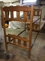 MAPLE WOOD BUNK BED