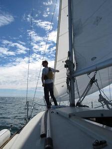 22ft quality Abbott Sailboat for sale