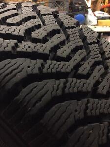 Snow Tires on rims London Ontario image 2