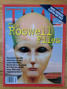 Time Magazine - 50th Anniversary of Roswell - June, 1997