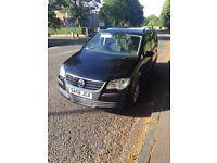 VW Touran 2008 Black