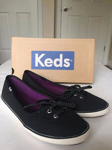 Size 6.5 Keds - Never warn