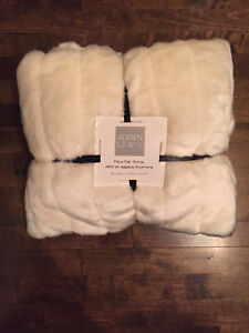 BRAND NEW! Faux Fur Throws