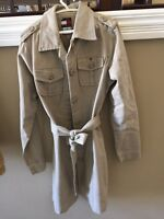 Authentic Tommy Hilfiger Girls Trench Coat
