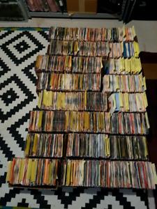 45 rpm vinyl record collection