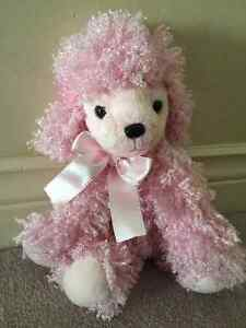 "RUSS Shining Stars PINK POODLE DOG 8"" Plush STUFFED ANIMAL Toy"