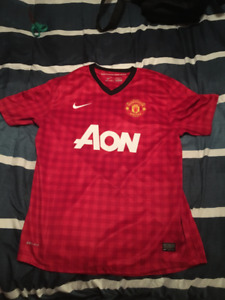 2012-2013 Robin Van Persie Manchester United Official Jersey