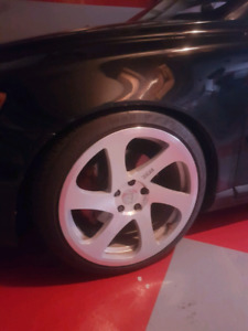 sdm rims for sale 5x108bolt pattern fits Volvo s40 like new